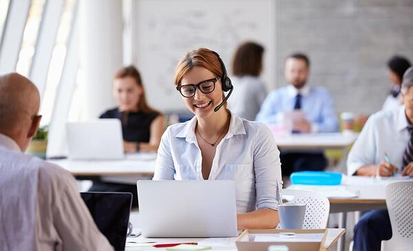 woman-on-headset