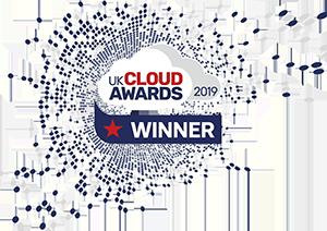 UK Cloud Awards Winner 2019