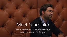 Microsoft Scheduler